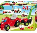 Kinder Rutscherauto Traktor Anhänger Rasenmäher Neu - Sulingen