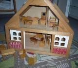 Kleines Spielhaus aus Holz - Bremen Lesum