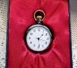 Taschenuhr mit Uhrkette, Batterriebetrieb, top ablesbar, noch unbenutzt/neu in der OVP - Diepholz