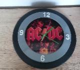 AC/DC Wanduhr  25 cm Durchmesser Neuwertig - Stuhr