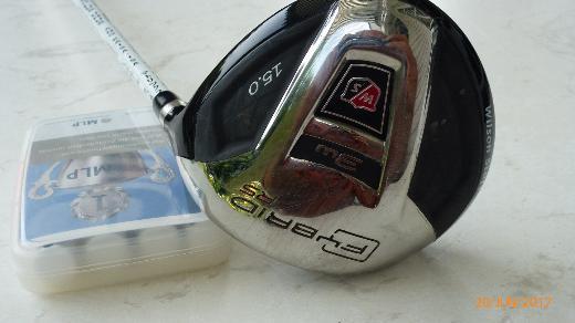 Golfschläger RH,  Bags, Trolley