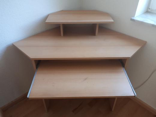 Eckschreibtisch, Schreibtisch, Computertisch - Stuhr