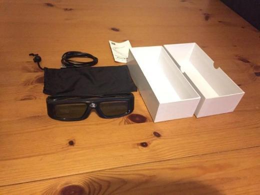 3D Shutterbrille wiederaufladbar
