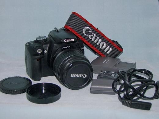 CANON DSLR 350D mit Kit-Optik 18-55