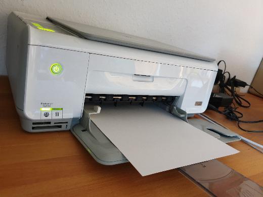 HP Drucker / Scanner / Kopierer Photosmart C 3180