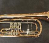 Cerveny Basstrompete Goldmessing, Mod. CTR 792-3 inkl. Koffer - Bremen Mitte