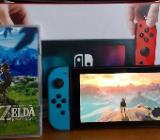 Nintendo Switch inkl. Zelda - Breath of the Wild *TOP ZUSTAND* - Zeven