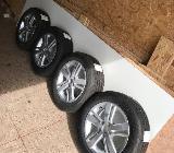 4x Sommerreifen(neu) auf Original VW AluFelgen(neu) - Varel