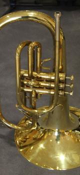 KING F - Horn / Mellophon, Made in U.S.A. mit Koffer - Bremen Mitte