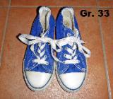 Stoffschuhe Chucks Sneaker Gr. 33 - Bremen