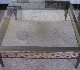 Wohnzimmertisch mit Glasplatte - Delmenhorst