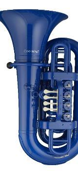 Coolwind BBb Kunststoff - Tuba blau, inkl. Softbag und Mundstück - Bremen Mitte