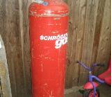 33 Kg Propangasflasche Gasflasche Rot Schröder Gas - Thedinghausen