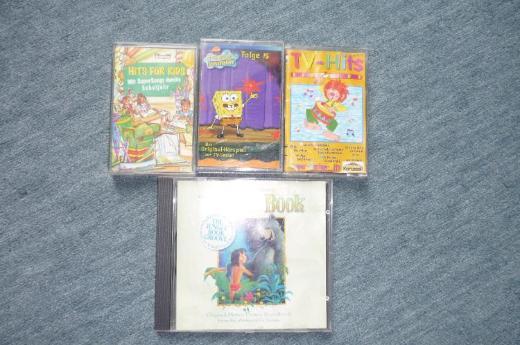 Kinder MCs und CD