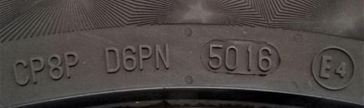 17 Zoll Org. Fontana Alufelgen mit Conti Sommerreifen (VW Passat 3C CC EOS) - Verden (Aller)