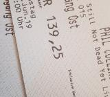 1 oder 2 Tickets Phil Collins Hannover 15.6. Originalpreis - Bremen