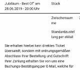 2 × Carte blanche am 28. 6. 19 - Bremen