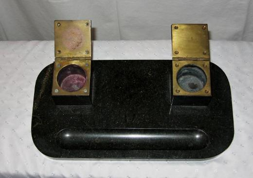 Schreibtischgarnitur (Marmor) - Wilhelmshaven