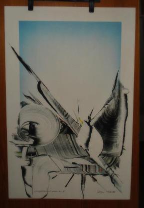 Zeichnungen (Unikate) ungerahmt - Wilhelmshaven