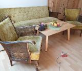 Sofa Garnitur Vintage Sessel Chair Vintage 60er Jahre Teak Schlaf - Worpswede