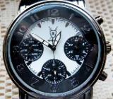 Gute Edelstahl-Marken-Armbanduhr mit Edelstahl-Gliederarmband, neu in Uhr-Box! - Diepholz
