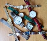 Uhren-Konvolut: 10 Armbanduhren, 1 Flexo-Armband, ungeprüft - Evtl. für Bastler!? - Diepholz
