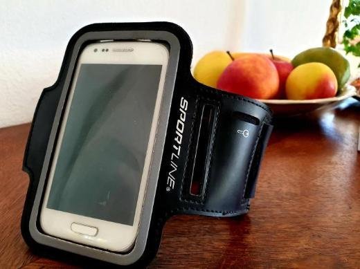 Smartphone Universal Sport Armband Schlüsselfach - Handy Sportarmband - Worpswede