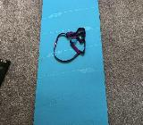 Domyos Yogamatte blau/violett Gymnastik - Bremervörde