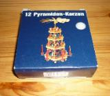 12 Pyramiden-Kerzen, weiß - Bremen
