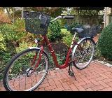 """Damen Fahrrad """"Excelsior"""" Tiefeinsteiger neuwertig (10 km) - Bremen Burglesum"""