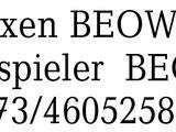 B & O, 2 LT Boxen BEOWOX -