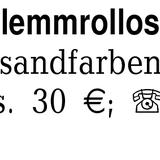 2 Klebe/Klemmrollos, Ther -