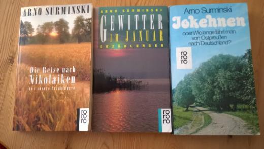 4 Ostpreußen Taschenbücher