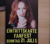 1 x Ticket Andrea Berg, 14. Heimspiel, 21. Juli 2019, Aspach, Mechatronik-Arena - Bassum