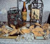 Weindeko Ständer Bild und Zierranke Trauben - Bremen