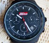 Ungetragene Sport-Marken-Armbanduhr mit Lederarmband u. Anleitung in Leder-Etui! - Diepholz