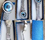 """Top """"Design""""-Armbanduhr mit Milanaise-Armband, ungetragen, neu in der OVP! - Diepholz"""