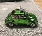 Weihnachtsbaumschnuck VW Käfer grün Volkswagen Glas - Bremervörde