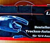 Nass- u. Trocken-Autostaubsauger, 100 Watt, für 12-Volt-Anschluss, wenig benutzt in OVP! - Diepholz