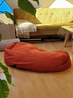 Wärmereflektierender Sitzsack zum entspannen - Worpswede