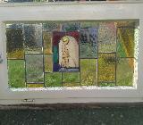Bleiverglastes Fenster (Männeken Pis) - Bremen