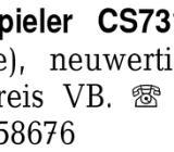 Dual Plattenspieler CS731 -