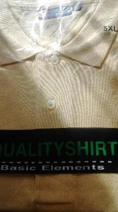 2 Poloshirts neu 5 xl
