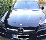 Mercedes Benz Cabrio/Roadster SLK 200, AMG Style und Sportpaket in schwarz, Bj. 6/2012 - Bremen Borgfeld