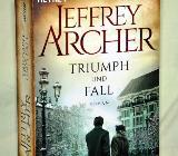 """Jeffrey Archer """"Triumph und Fall"""", Roman, 892 Seiten - Achim"""