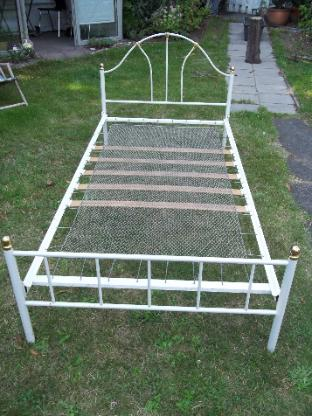 Vintage Metall Bett - Ritterhude