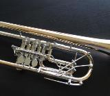 Meister J. Scherzer Profiklasse Konzert - Trompete 8218W-L mit 2 Überblasklappen + Doppeltrigger Neu - Bremen Mitte