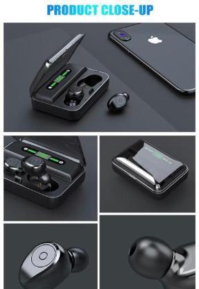 WASSERDICHT !!  Neue Bluetooth Kopfhörer  F9- V5.0
