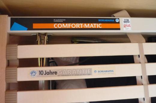 "Lattenrost ""Schlaraffia"" Comfort Matic 90x200cm"