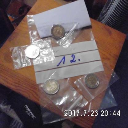 4 Stück 2 Euro Münzen Stempelglanz 12 - Bremen
